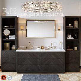 RH Herringbone collection 3d model Download  Buy 3dbrute