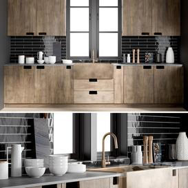 Kitchen 1 3d model Download  Buy 3dbrute