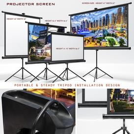 projector screen 3d model Download  Buy 3dbrute