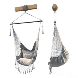 Hammock chair 3d model Download  Buy 3dbrute