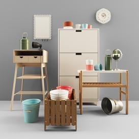 IKEA 2 3d model Download  Buy 3dbrute