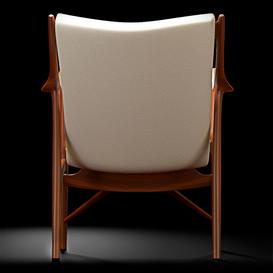45 Chair by Finn Juhl 3d model Download  Buy 3dbrute
