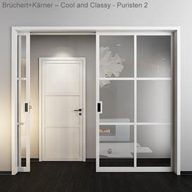 Doors   B chert   Cool and Classy   Puristen 2 3d model Download  Buy 3dbrute