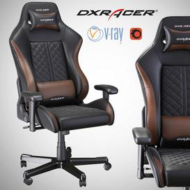 DXRacer OH DF73 NC LT 3d model Download  Buy 3dbrute