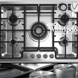 Hob by Whirlpool AKM 487 IX 3d model Download  Buy 3dbrute