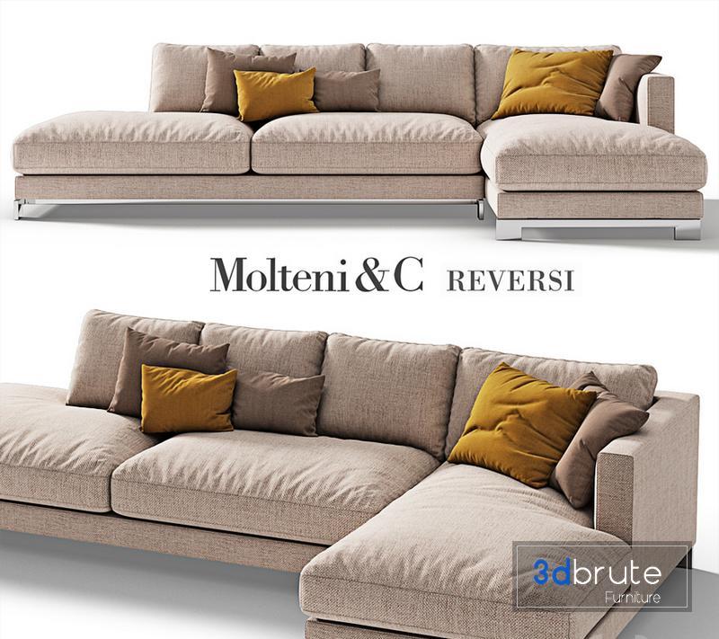 Molteni C Reversi Sofa 4 Model