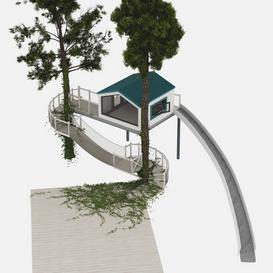 Treehouse 3d model Download  Buy 3dbrute