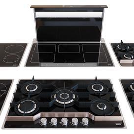 Set Frames by Franke kitchen appliances 3d model Download  Buy 3dbrute