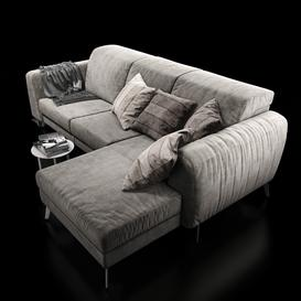 Sofa BoConcept Madison 3d model Download  Buy 3dbrute