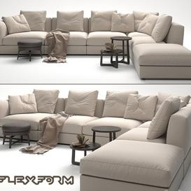 Flexform zeno 3d model Download  Buy 3dbrute