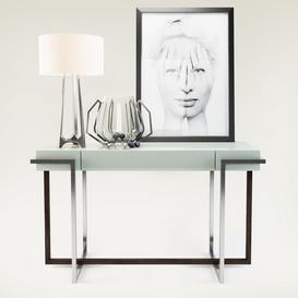 Baker Furniture Set 001 3d model Download  Buy 3dbrute