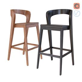 Barstool by Alain Berteau 3d model Download  Buy 3dbrute