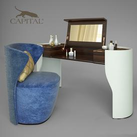 Capital collection 3d model Download  Buy 3dbrute