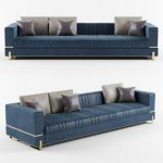 Capital Collection GRAND 3 seater sofa 3d model Download  Buy 3dbrute