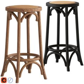 Cult Furniture Harrington Bar Stool 3d model Download  Buy 3dbrute