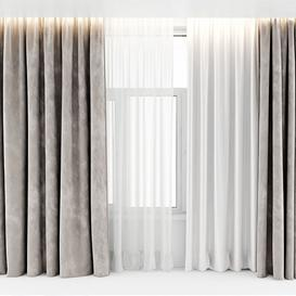 CURTAINS  11 3d model Download  Buy 3dbrute