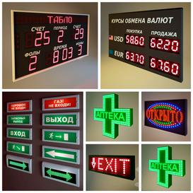 electronic  LED  boards and annunciators 3d model Download  Buy 3dbrute