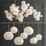Giopato Bolle   Sculptural Glass Chandelier