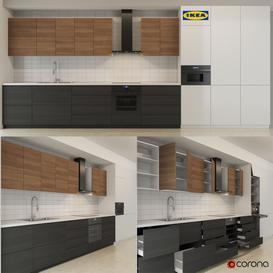 ikea kitchen part 001 3d model Download  Buy 3dbrute