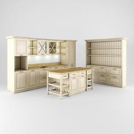 Kitchen 3d model Download  Buy 3dbrute