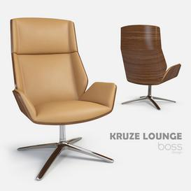 Kruze Lounge armchair by David Fox 3d model Download  Buy 3dbrute