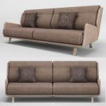 MEDEA Montenapoleone collection Sophia Sofa 3d model Download  Buy 3dbrute