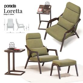Porada Loretta 3d model Download  Buy 3dbrute