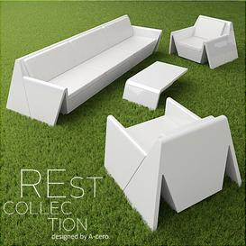 REst collection 3d model Download  Buy 3dbrute