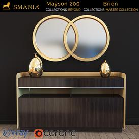 SMANIA Mayson 200  Brion mirror 3d model Download  Buy 3dbrute