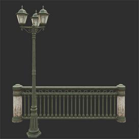 Street lamp 12 3d model Download  Buy 3dbrute