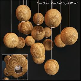 Tom Dixon Pendant Wood Light 3d model Download  Buy 3dbrute