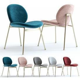 West Elm Jane Dining Chair 3d model Download  Buy 3dbrute
