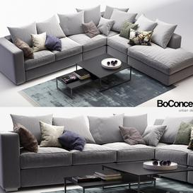 BoConcept Cenova7 3d model Download  Buy 3dbrute