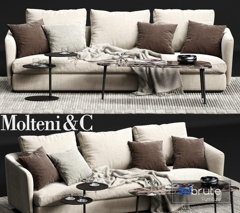 Molteni C Sloane Sofa 04 Model