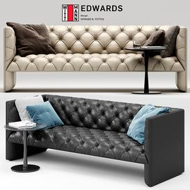 Edwards sofa 3d model Download  Buy 3dbrute