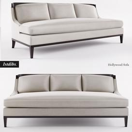 1stdibs- Hollywood Sofa 3d model Download  Buy 3dbrute