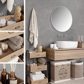 Bathroom 4 LT 3d model Download  Buy 3dbrute