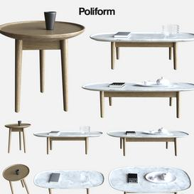 POLIFORM MAD COFFE TABLE 3d model Download  Buy 3dbrute