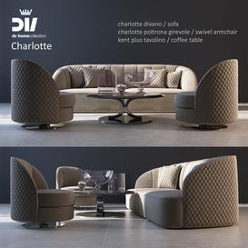 DV Home Charlotte LT 3d model Download  Buy 3dbrute