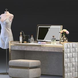 Dressing table Vissionaire - Titania LT 3d model Download  Buy 3dbrute
