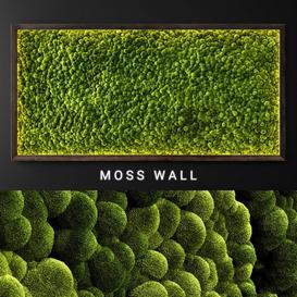 Moss wall 2 LT 3d model Download  Buy 3dbrute