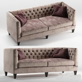 Beckett sofa by Bernhardt furniture LT 3d model Download  Buy 3dbrute