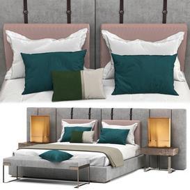 Fendi halston bed 3d model Download  Buy 3dbrute