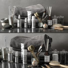 bathroom set 04 LT 3d model Download  Buy 3dbrute