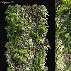 Vertical garden 02 LT 3d model Download  Buy 3dbrute