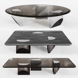 Minotti Wedge coffee table 3d model Download  Buy 3dbrute