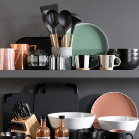 Kitchen Accessories 12 3d model Download  Buy 3dbrute