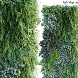 Vertical garden 14 LT 3d model Download  Buy 3dbrute