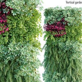 Vertical garden 15 LT 3d model Download  Buy 3dbrute