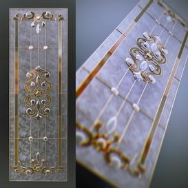 Classic stained glass LT 3d model Download  Buy 3dbrute